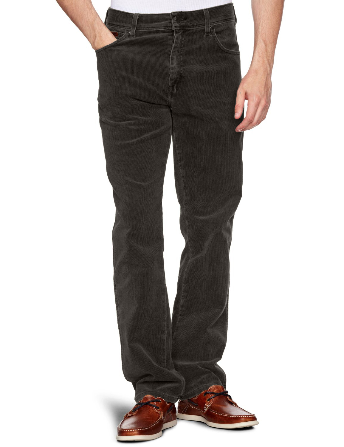 Wrangler Texas Stretch Cords New Men's Regular Fit Corduroy Jeans ...