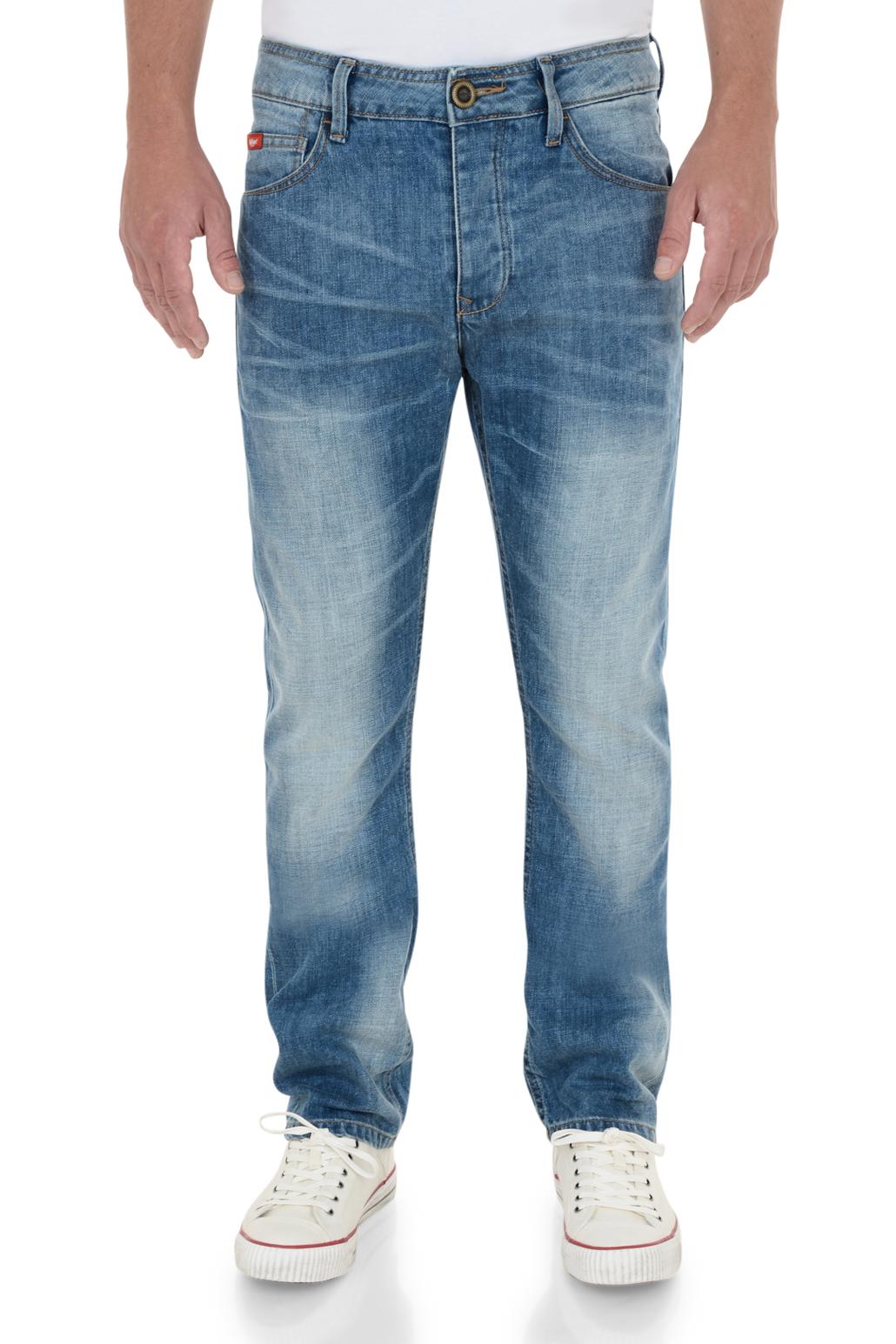 lee cooper jeans men�s new vintage faded denim pants