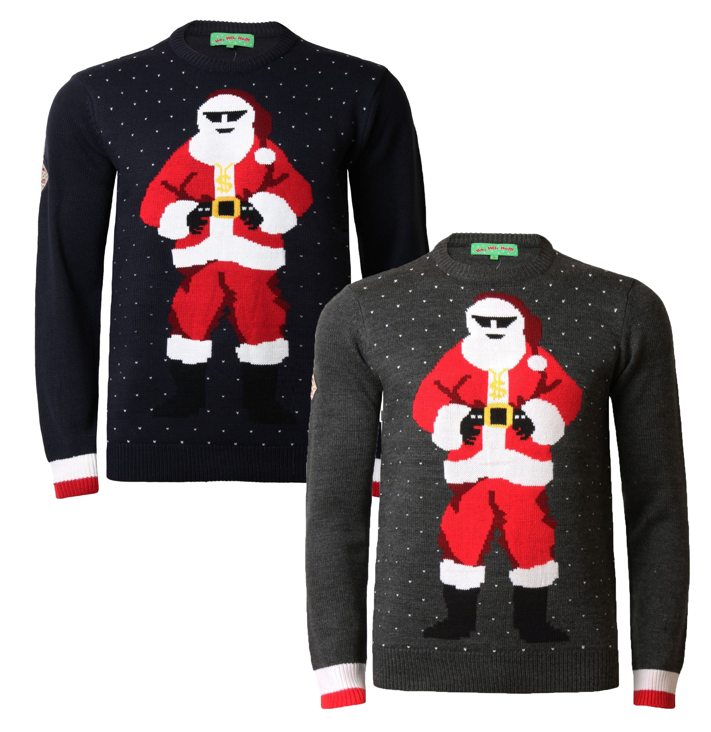 Novelty Christmas Jumpers Knitting Pattern : Christmas jumpers new novelty xmas knit sweaters hohoho