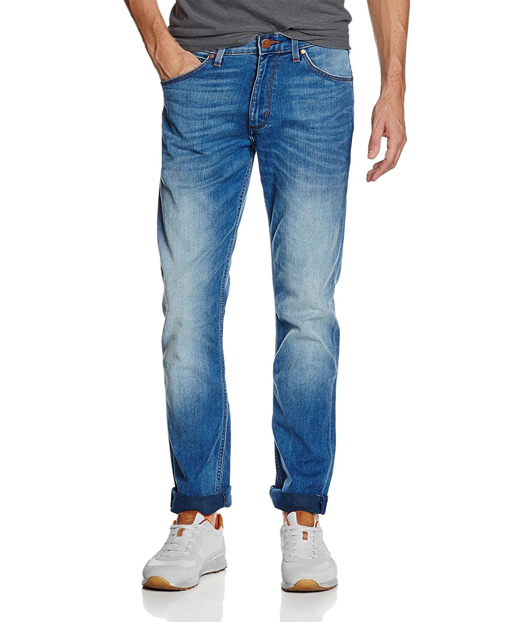 wrangler greensboro regular straight tapered stretch jeans blown away denim ebay. Black Bedroom Furniture Sets. Home Design Ideas