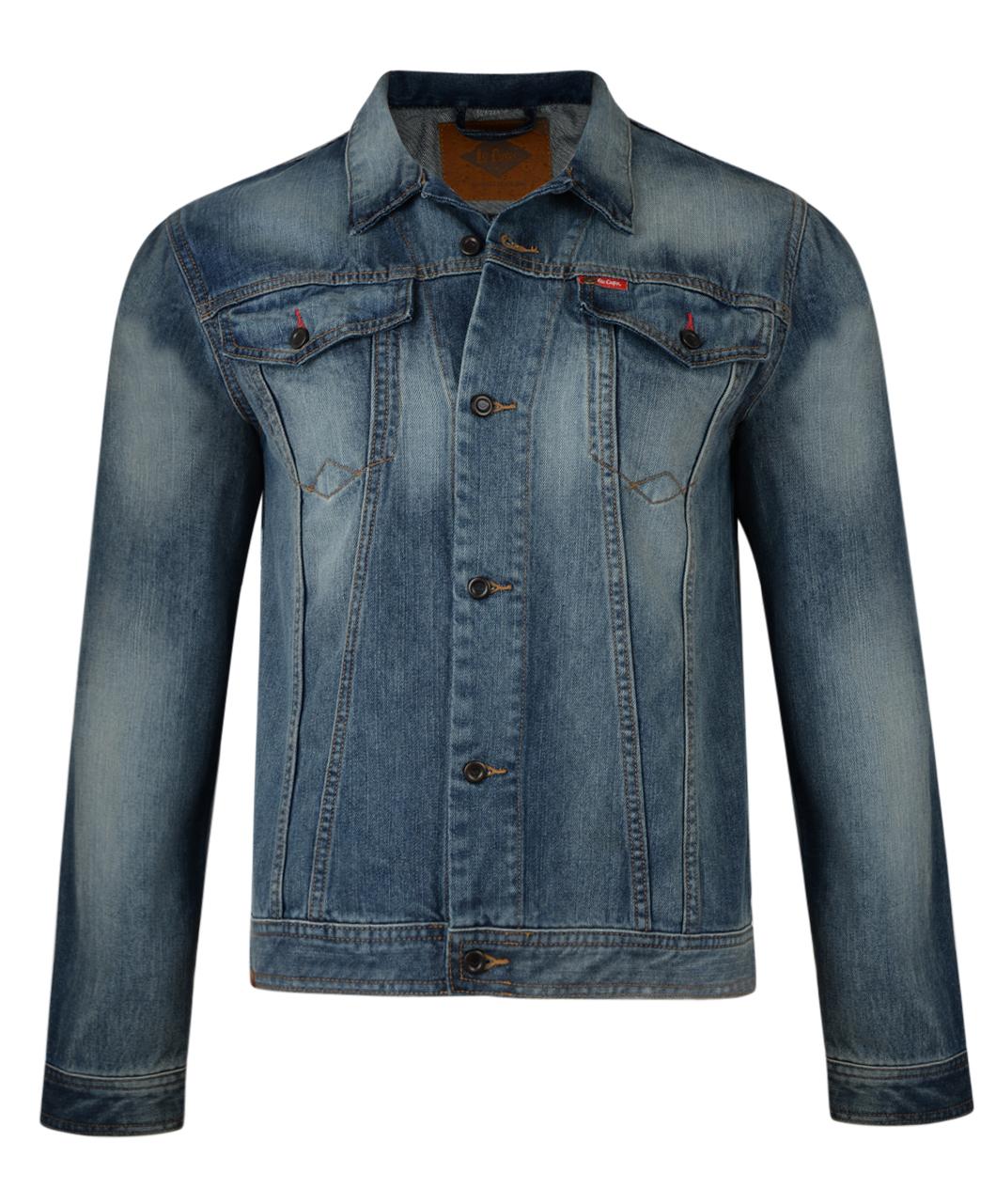 Lee Cooper New Menu2019s Denim Jacket Quality Vintage Retro Mod Trucker Jean Jackets | eBay